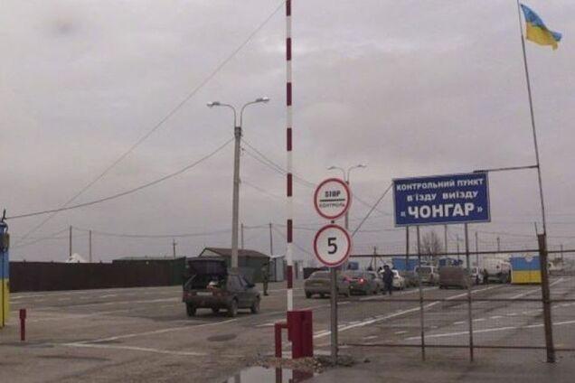 На границе с Крымом украинских военных разоружили, чтобы не раздражать россиян