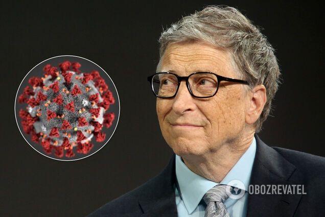 Білл Гейтс відповів на звинувачення через коронавірус