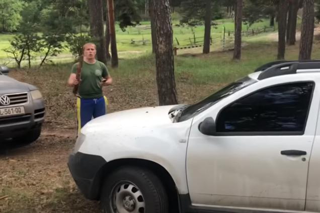 Нападение на авто