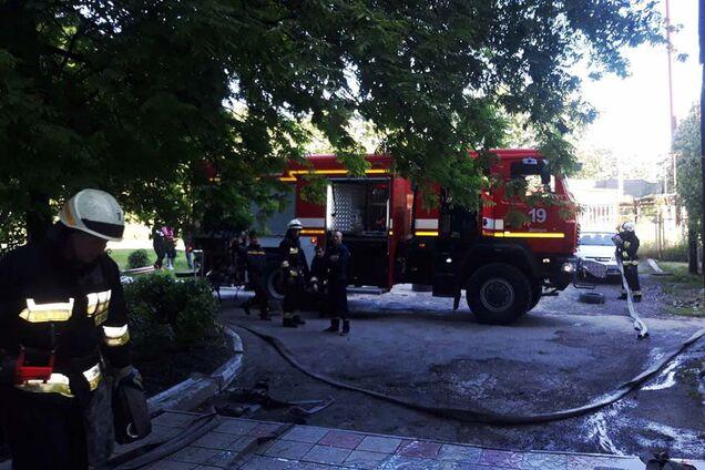 Пожежа в будинку на проспекті Праці