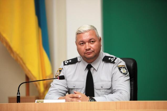 Началиник ГУНП в Днепропетровской области Владимир Огурченко