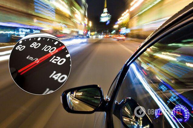 В Киеве водитель установил антирекорд нарушения скорости