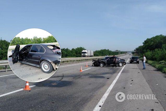 Через колесо, що лопнуло, загинув водій