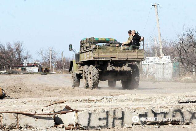 ОБСЕ засекла колонну российских военных машин