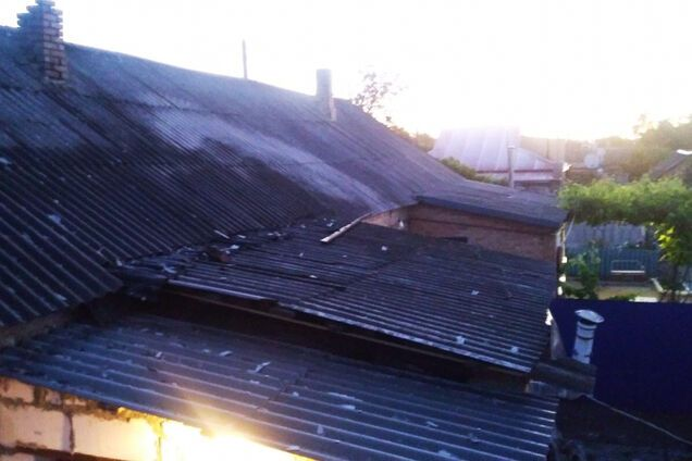 Во время пожара в доме сгорел мужчина
