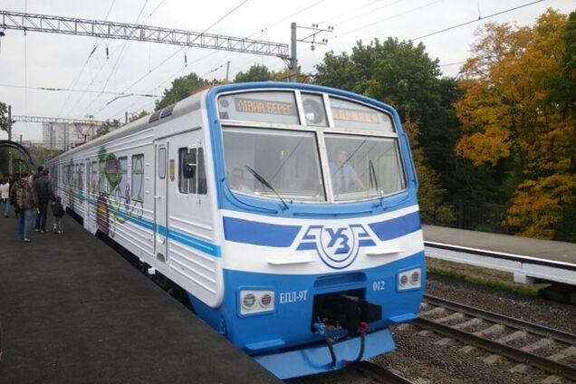 Киевская электричка
