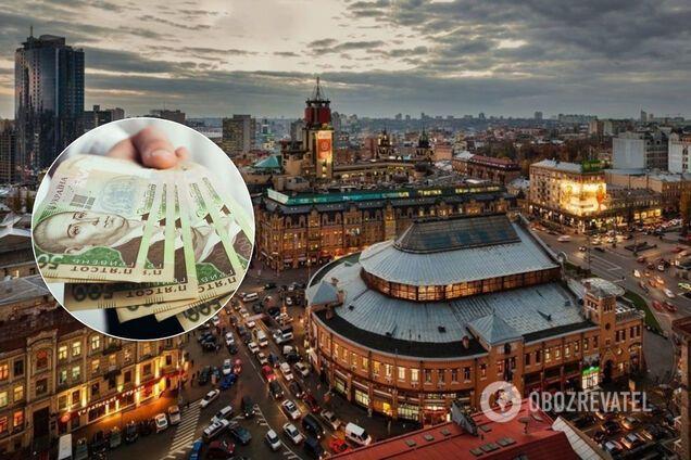 Киев за год поднялся на 44 позиции в рейтинге самых дорогих городов для эмигрантов. Иллюстрация