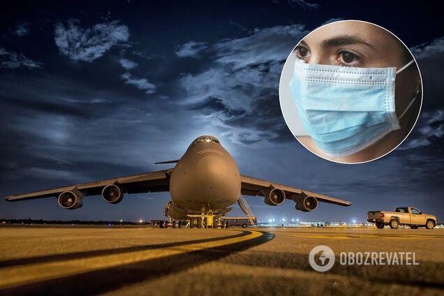 Эксперты объяснили вероятность заражения COVID-19 в самолете