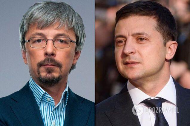 Ткаченко і Зеленський