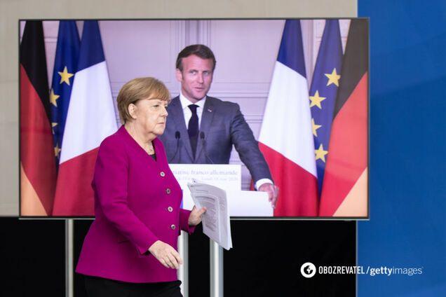 Меркель і Макрон закликали готуватися до нових пандемій