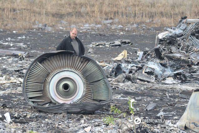 Збитий Boeing 777 над Донбасом