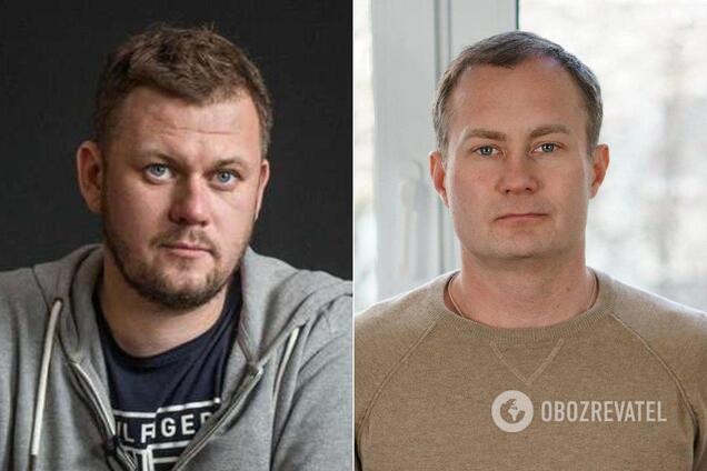 Денис Казанский и Сергей Гармаш
