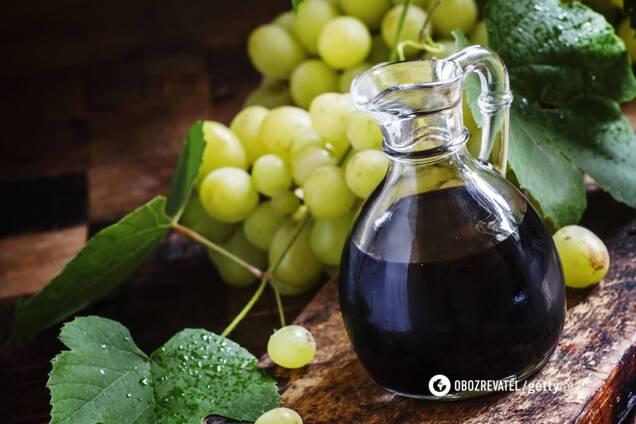 Бальзамический уксус содержит много антиоксидантов
