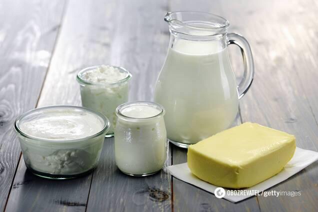Молочні продукти дуже довго перетравлюються