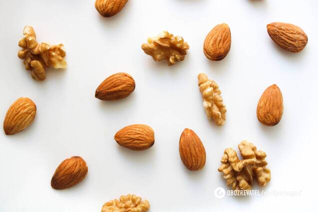"""Грецкий орех и миндаль способствуют снижению """"плохого"""" холестерина"""