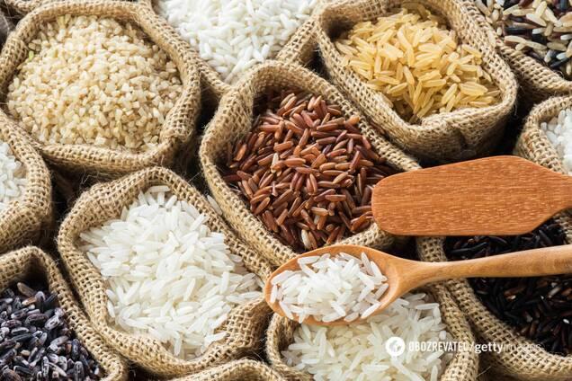 Коричневий рис містить більше вітаміну Е, ніж білий