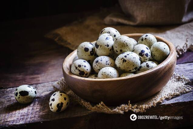 Перепелині яйця допомагають поліпшити метаболізм