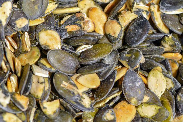 Серед лідерів за вмістом цинку – гарбузове насіння
