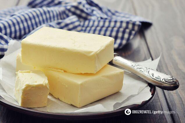 Сливочное масло помогает уменьшить общее количество жира в организме