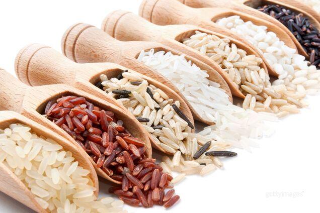 Красный рис обладает интенсивным сладким вкусом