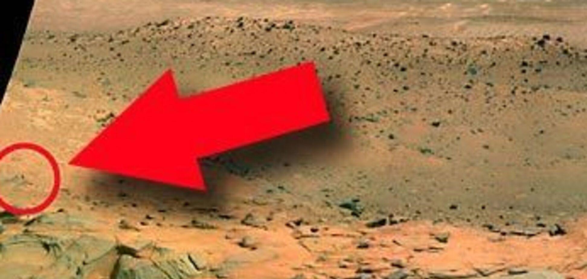 NASA виявило розумну життя на Марсі!