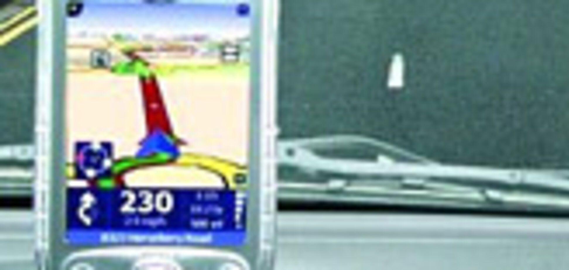 Система GPS навігації привела водія під потяг