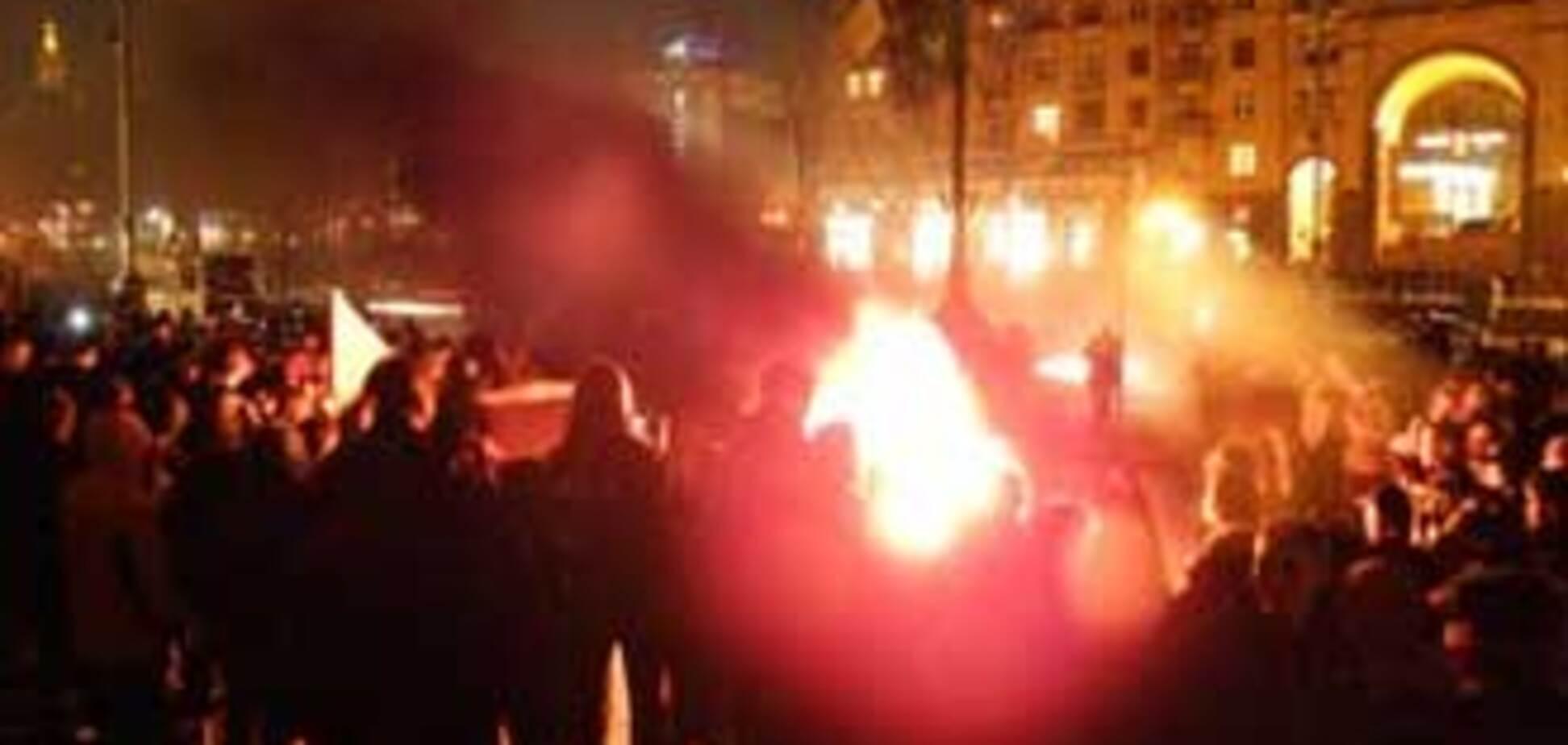 Акцию протеста жестоко разогнал 'Беркут'