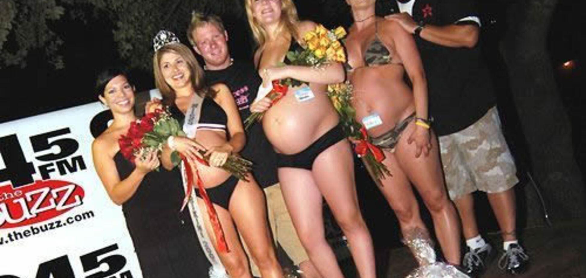 Выборы самой беременной красавицы. Или красивой беременной