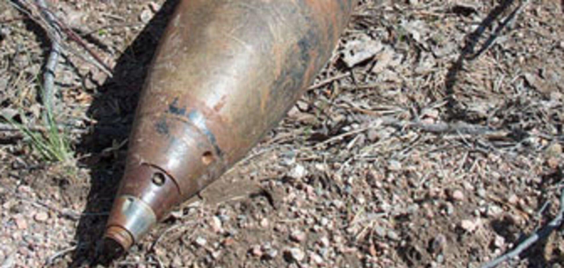 Різьба по снаряду призвела до загибелі селянина
