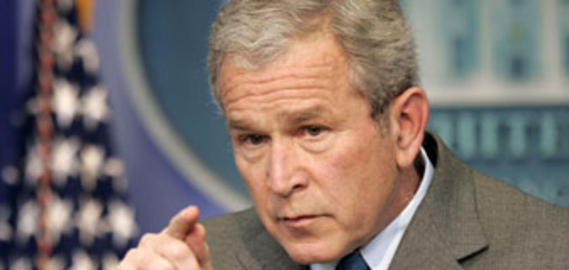 Буш не боится беспорядков в Тибете