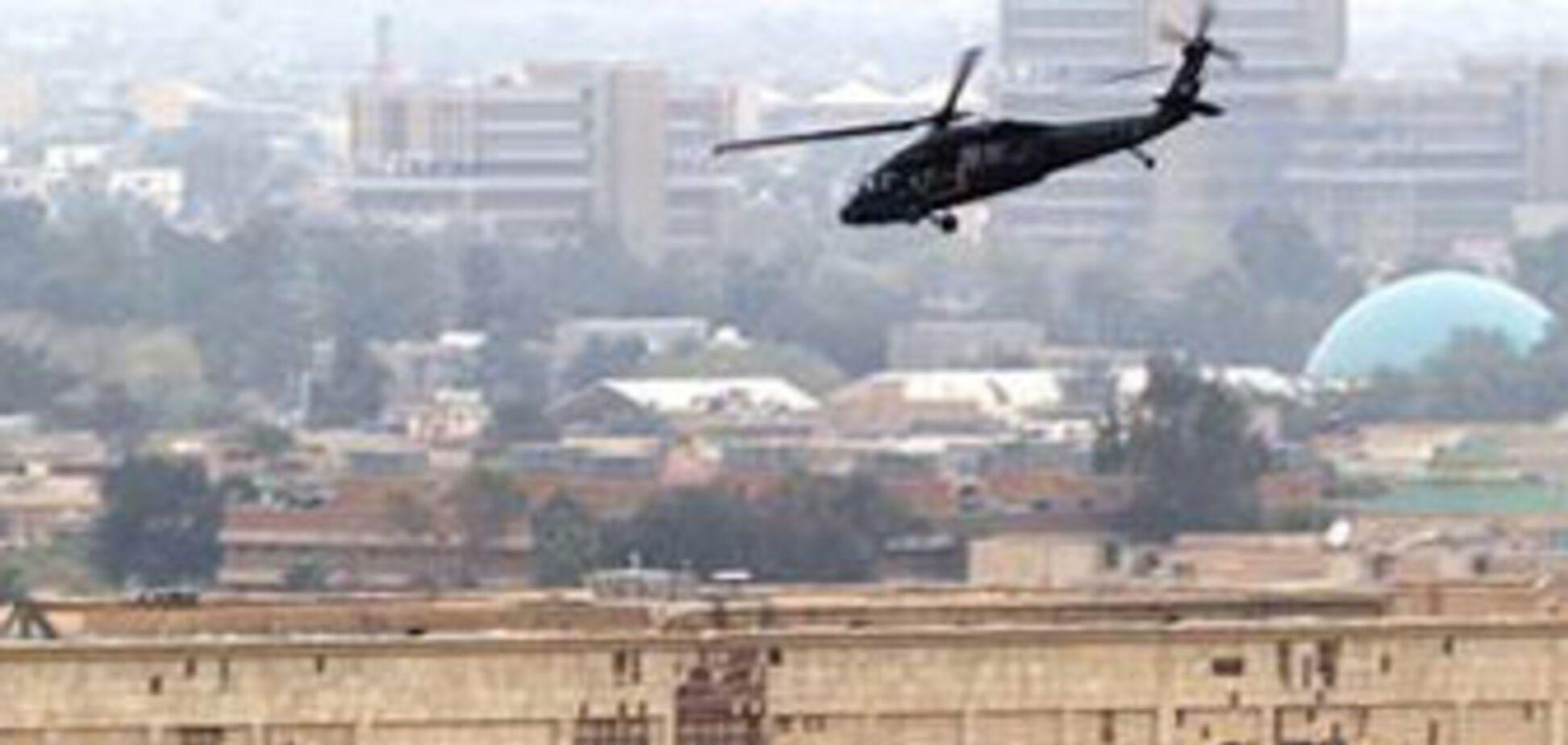 Безпечна зона Багдада піддалася обстрілу
