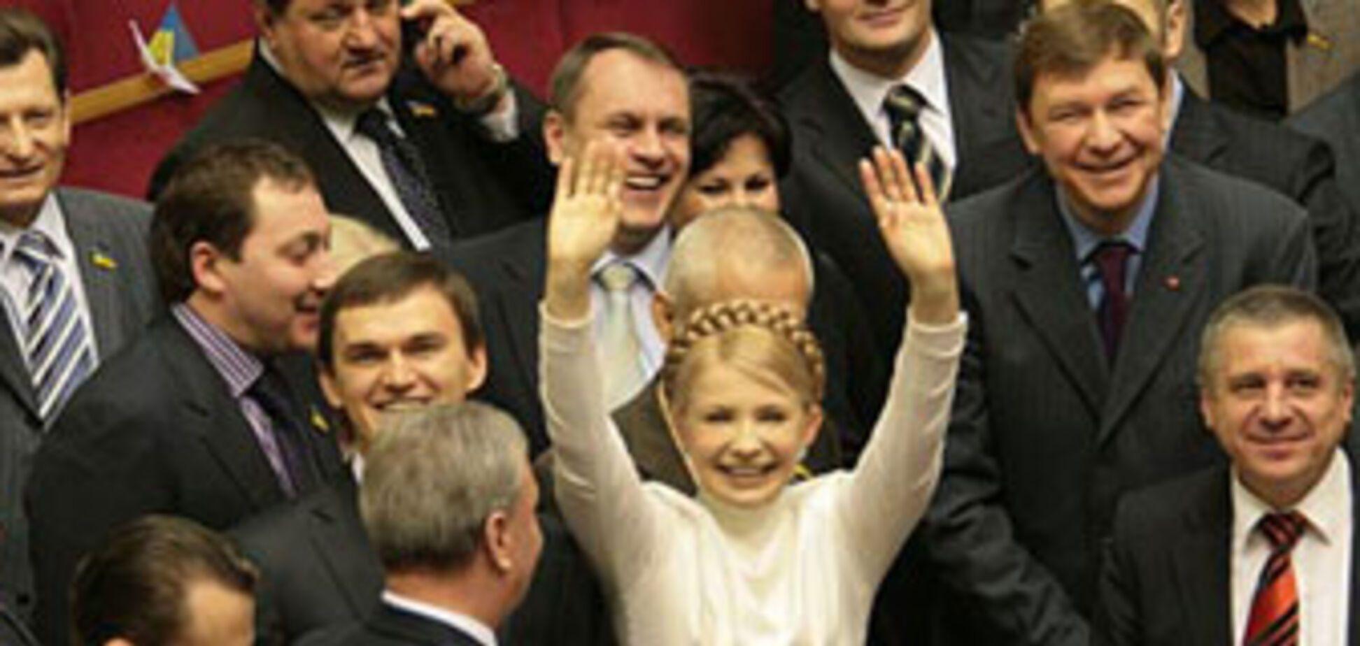 Тимошенко вооружилась