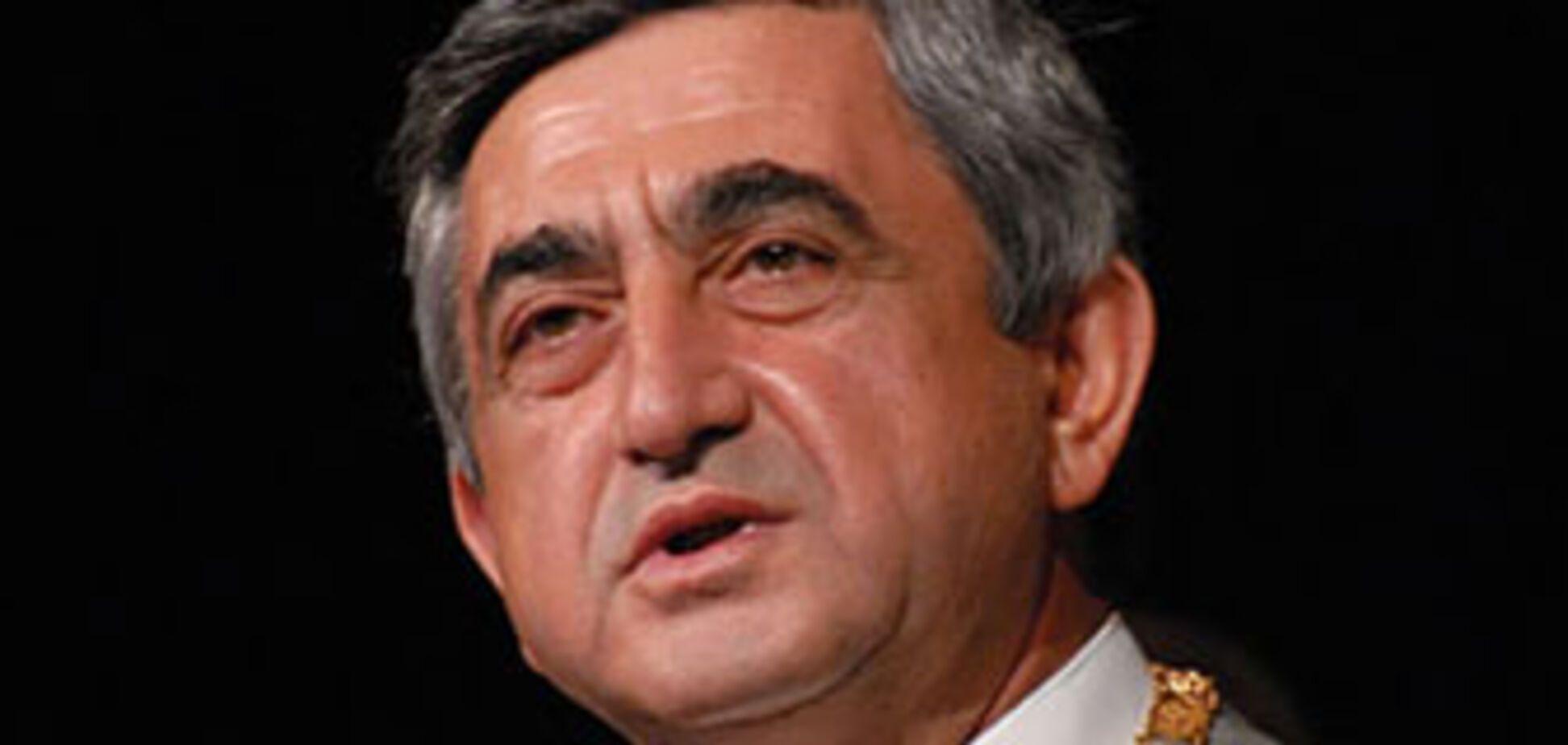 США підтримали президента Вірменії