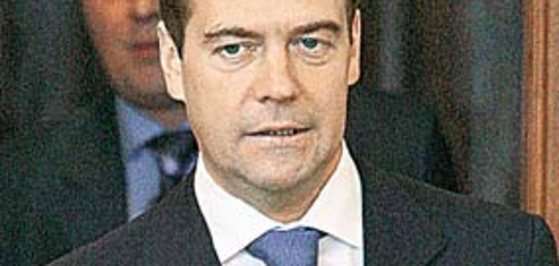 На Медведева готовится покушение? Сценарий