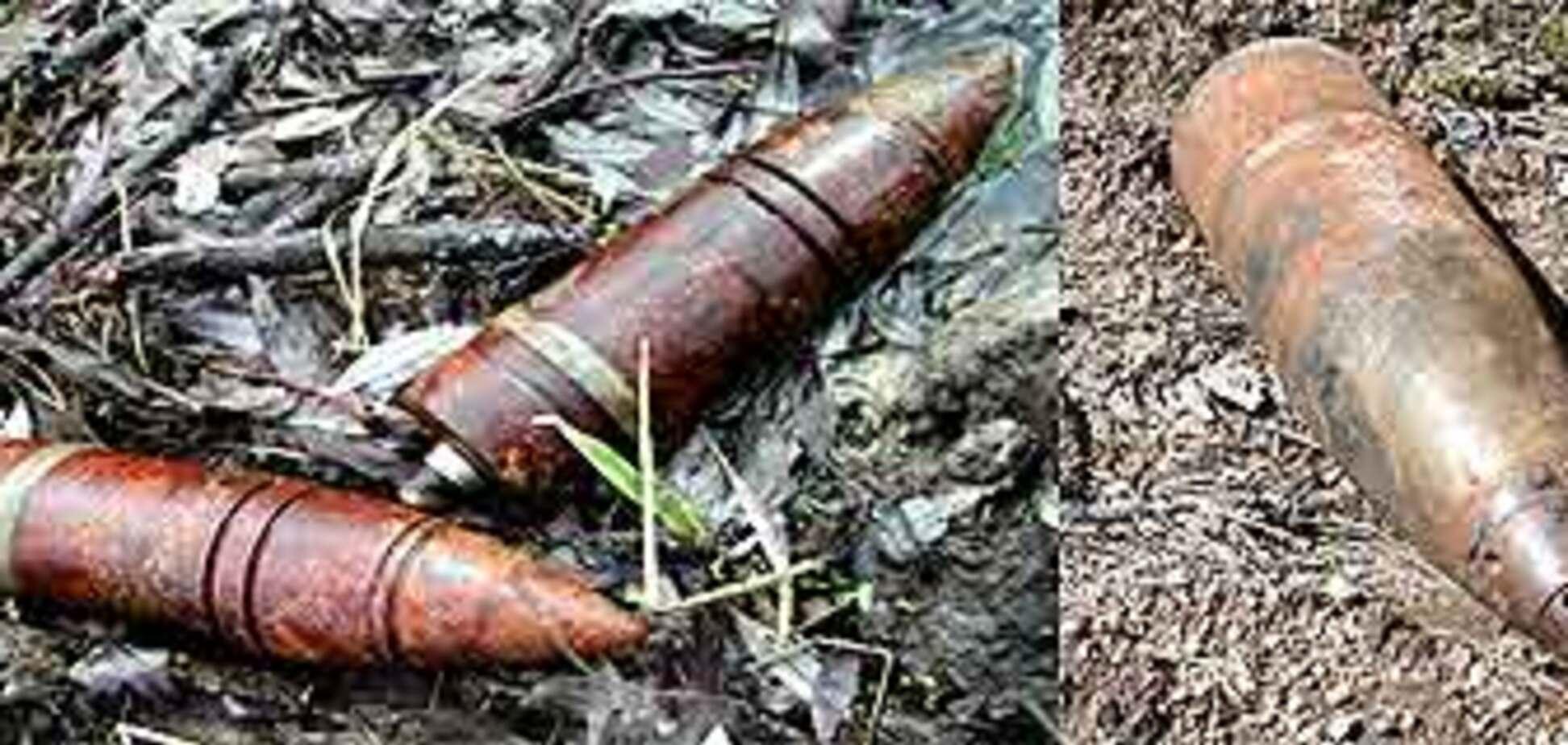 У городі тернополянка знайшли склад з артснарядами