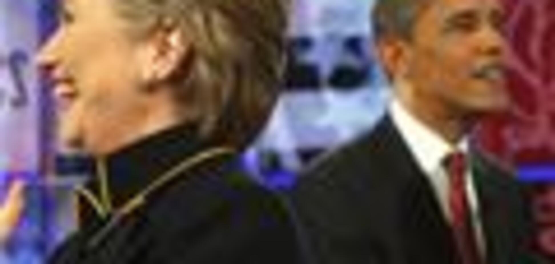 Клінтон буде збирати пожертви на Обаму