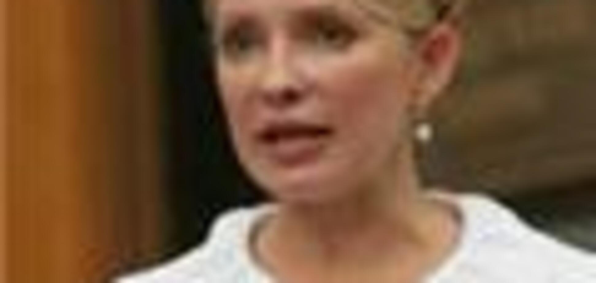Тимошенко вибралася з шахти