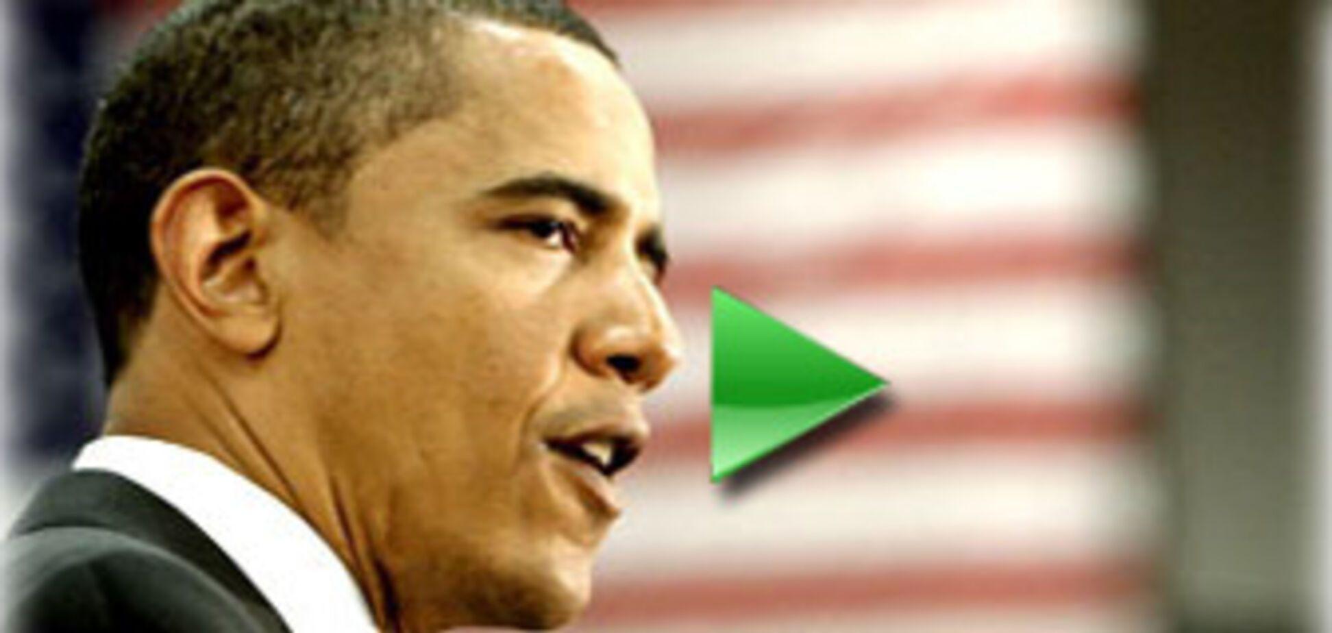 Обама стал первым темнокожим кандидатом в истории США