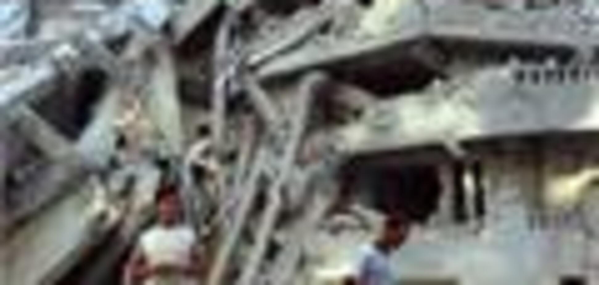 В России рухнули два здания, есть жертвы