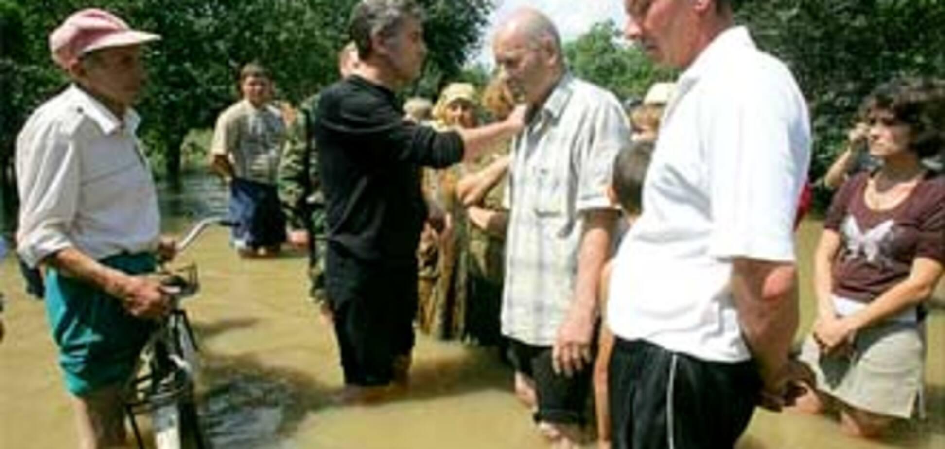 Ющенко просит СНБО признать зоны чрезвычайной ситуации