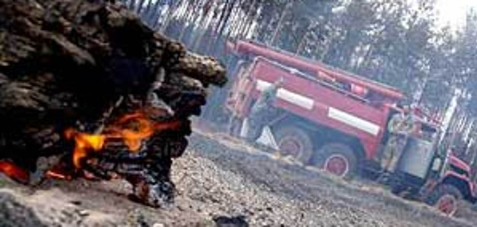 Семь регионов Украины охвачены пожарами