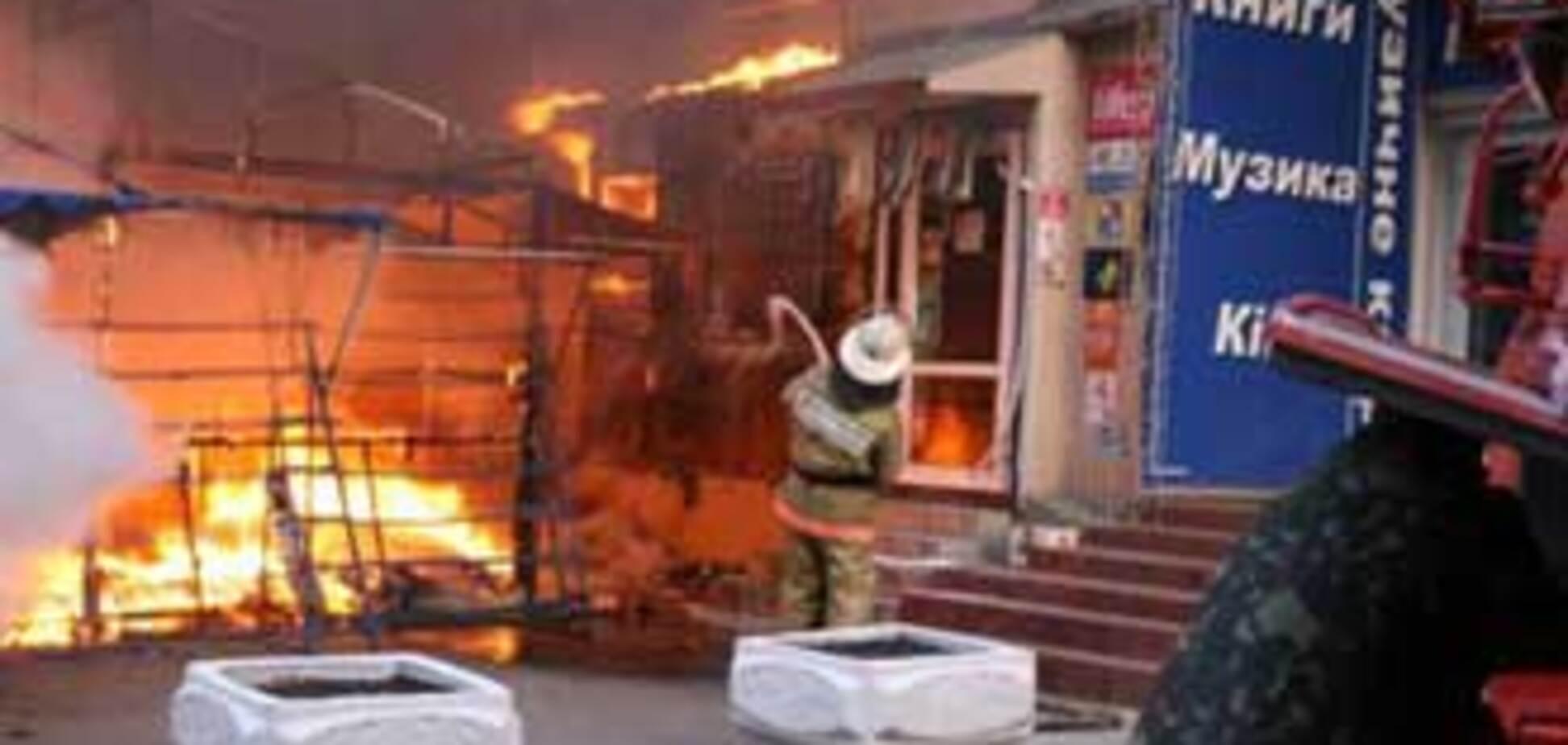 В Киеве сгорели заживо четверо человек