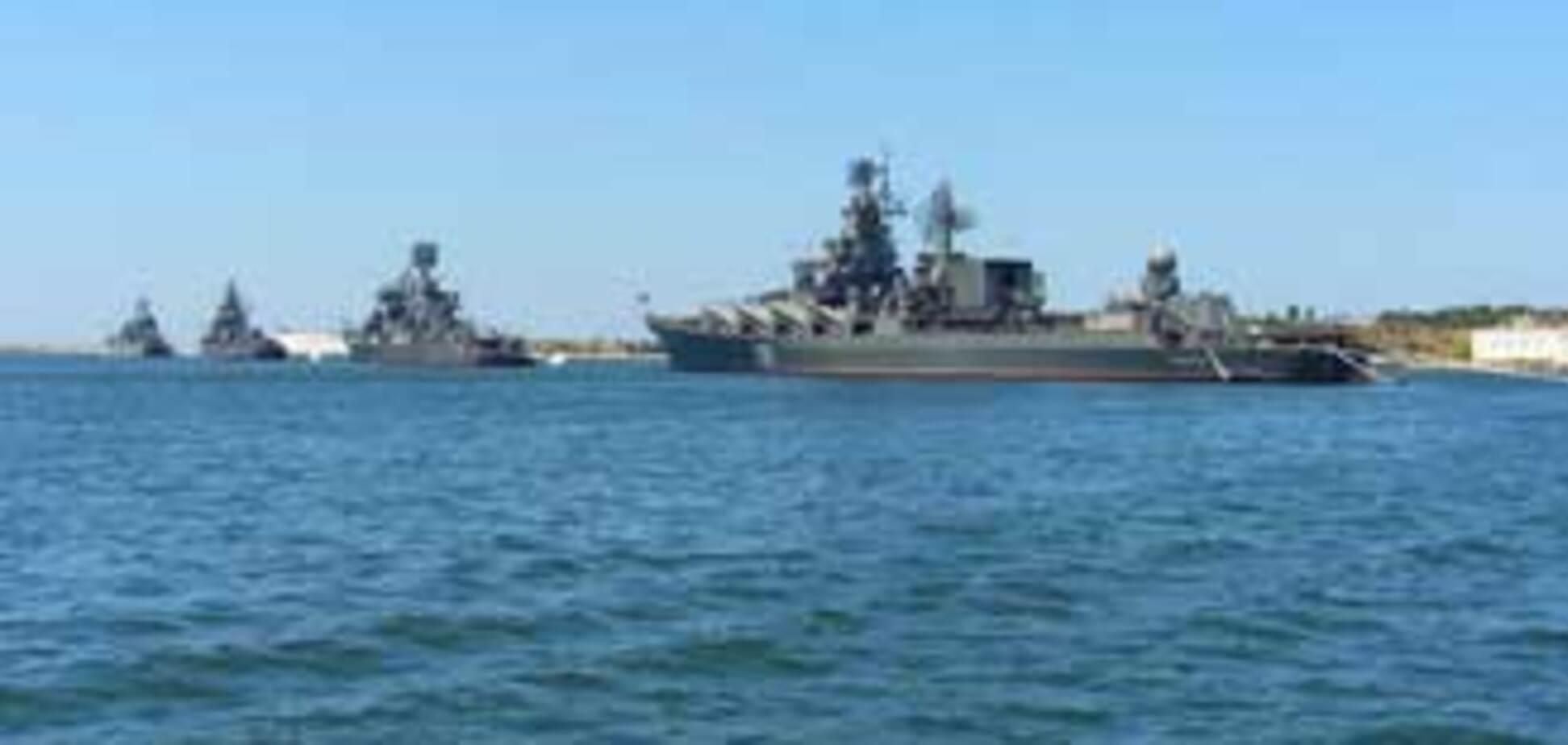 Российским кораблям тесно в Черном море