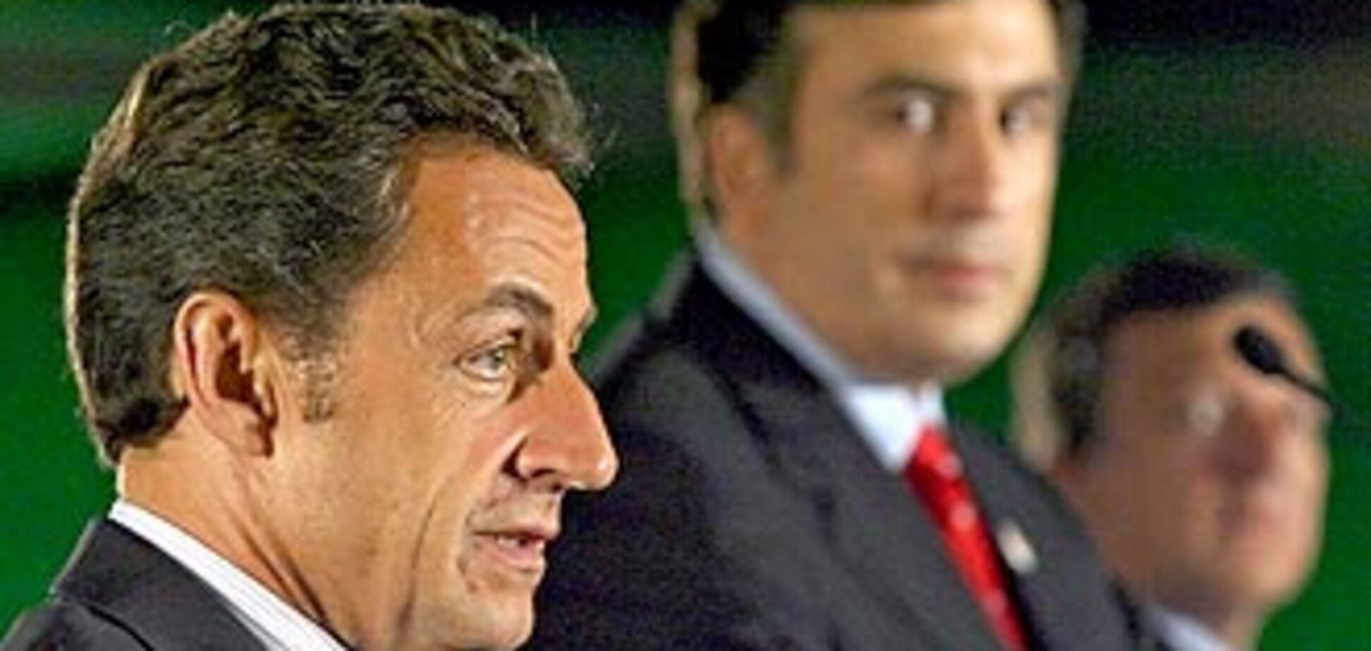 Саакашвілі підписав план 'Медведєва-Саркозі'