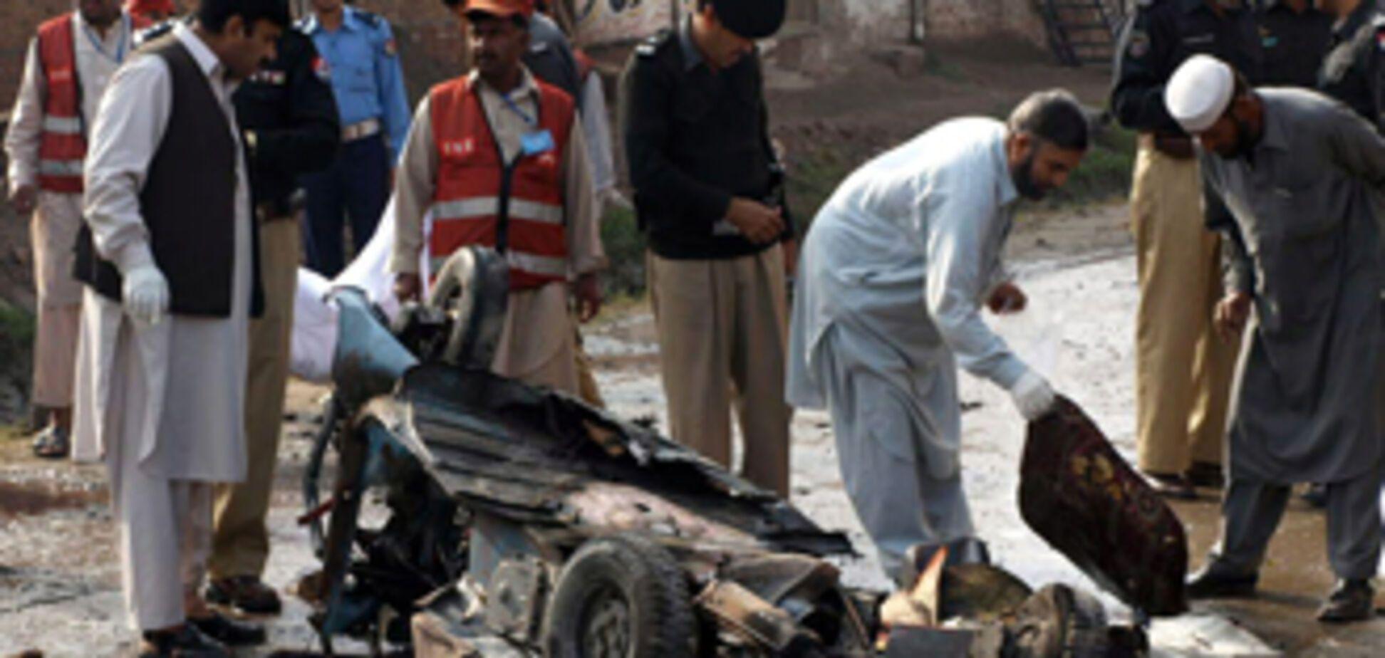 Черговий вибух в Пакистані: десятки загиблих