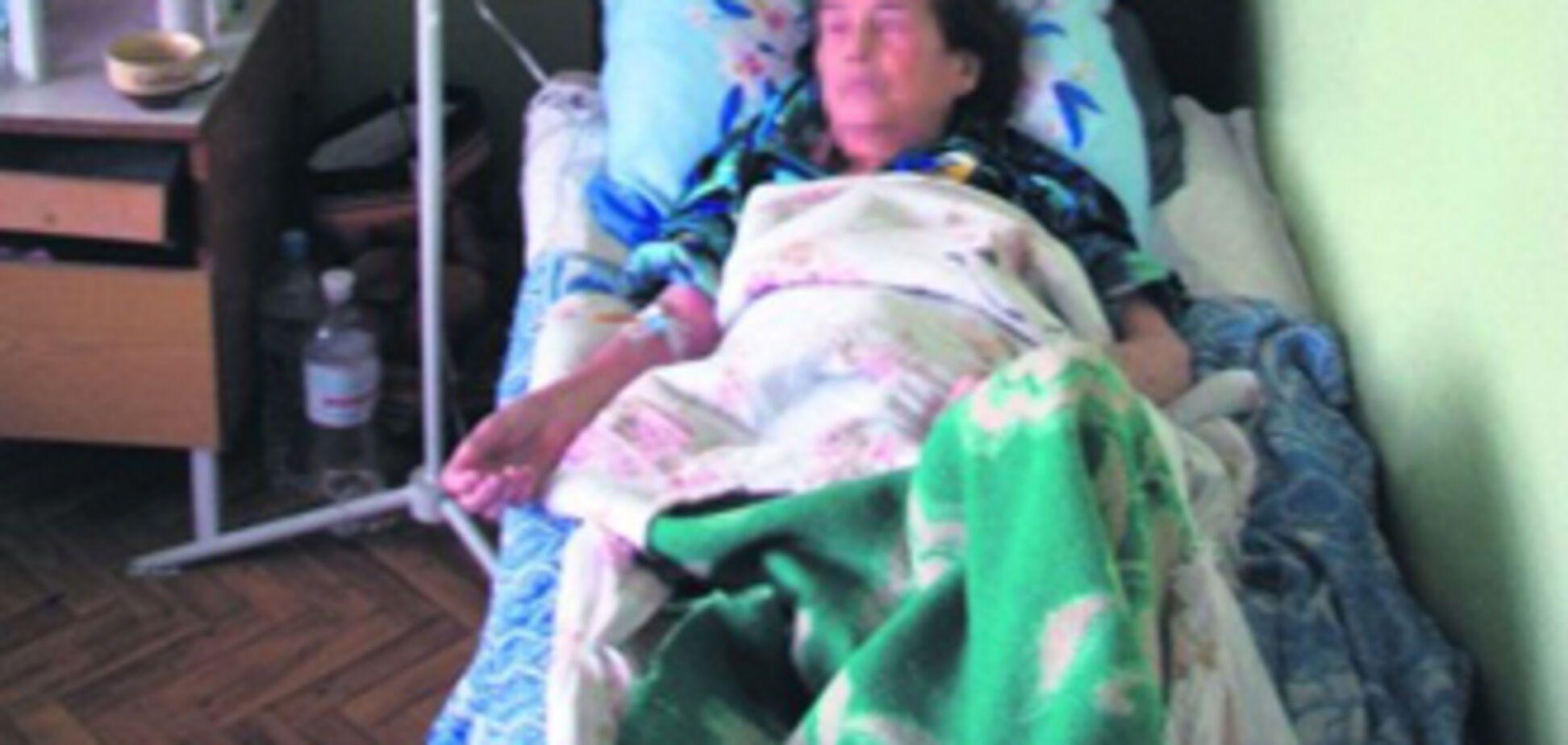 П'ятикласниця побила бабусю через спадщину