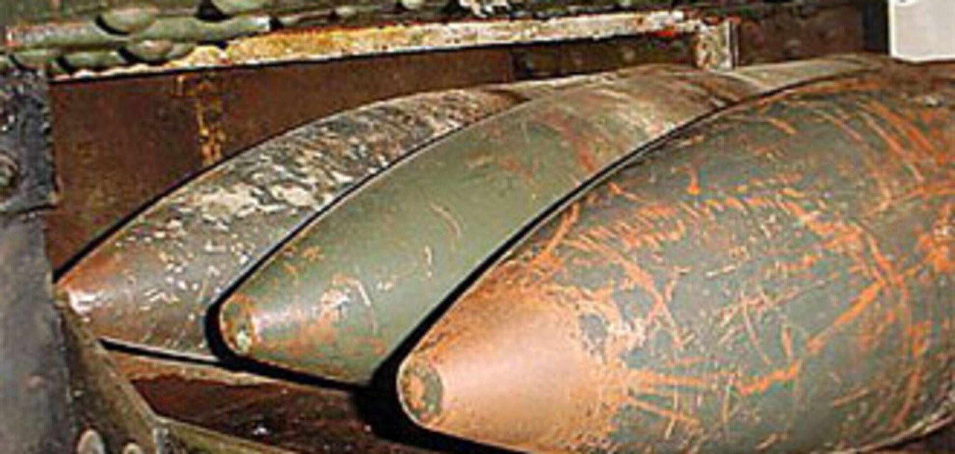 На звалищі знайшли 700 снарядів і гексоген