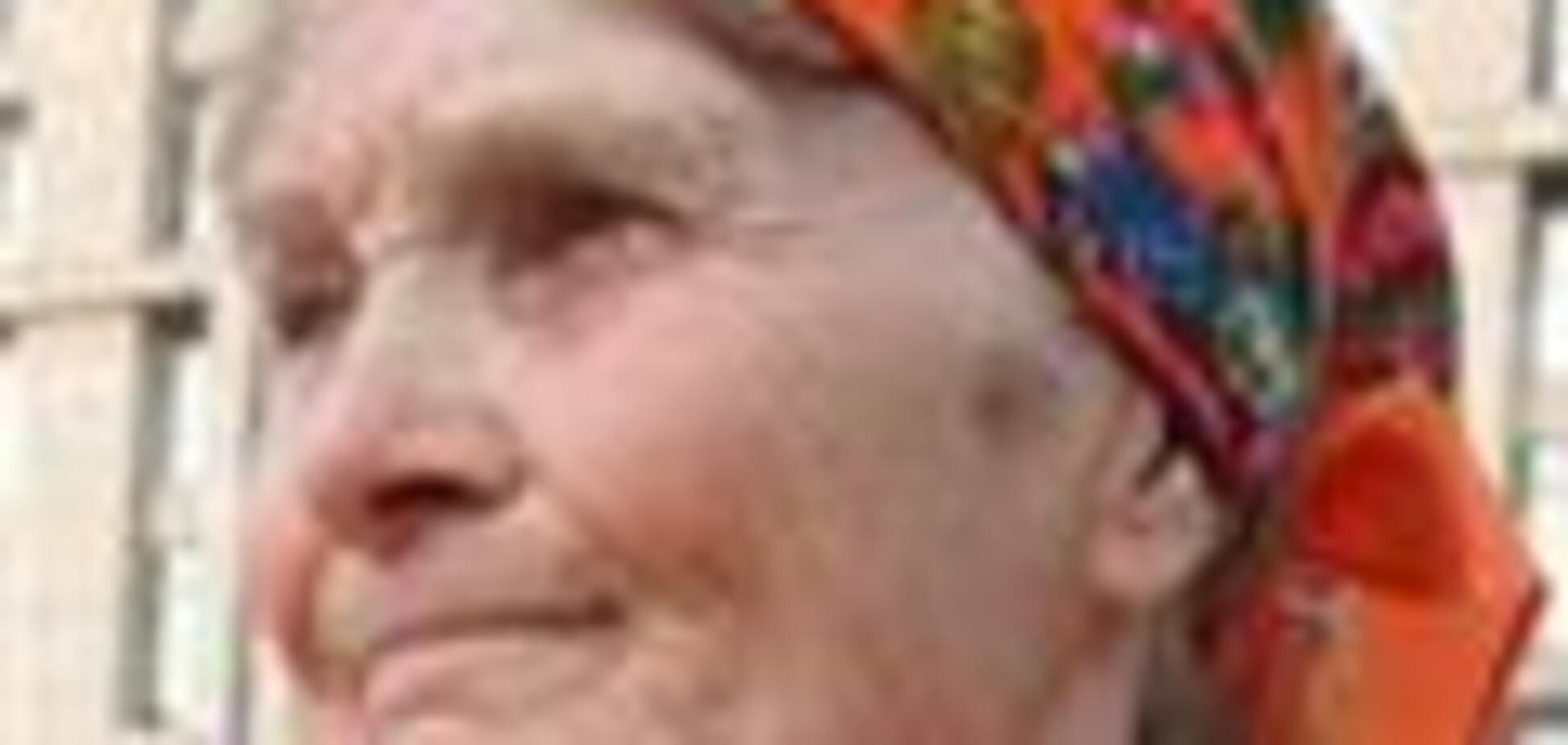 Баба Параска не боїться померти за правду