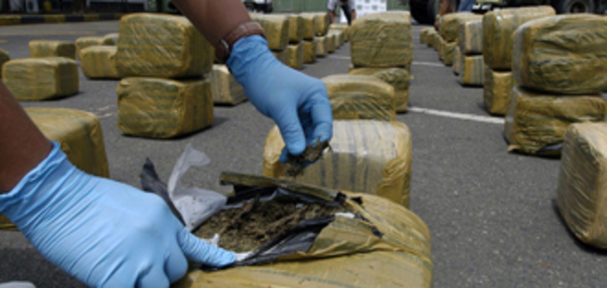 У Полтаві спалили 58 кг наркотиків