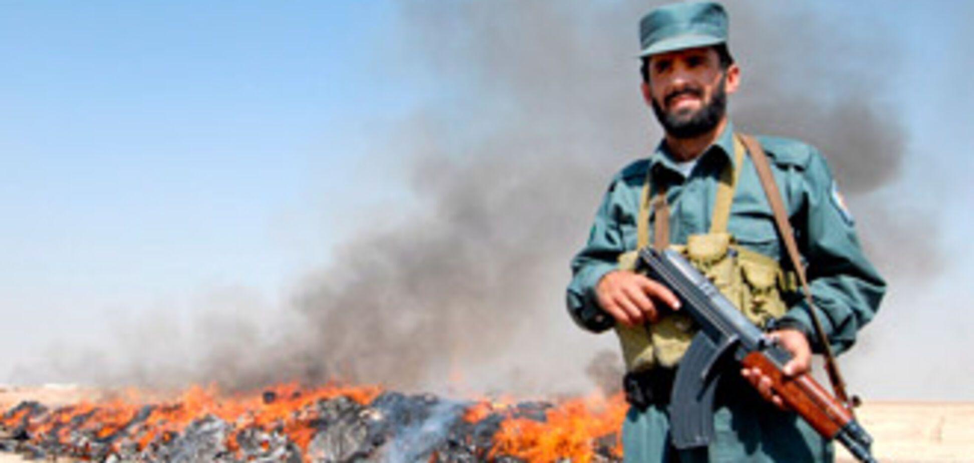В Афганістані перехопили тонну гашишу